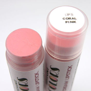 CORAL PINK MATTE Opaque Lipstick in light coral pink color, 5ml