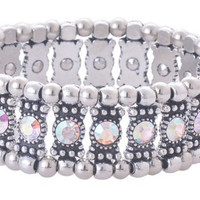 AB Crystal Stretch Bracelet