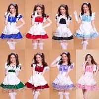 Inu x Boku SS Girls Japanese Maid French Lolita Dress Costume Women Fancy dress Cosplay Costume