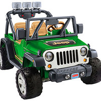 Power Wheels Deluxe Jeep Wrangler Ride On