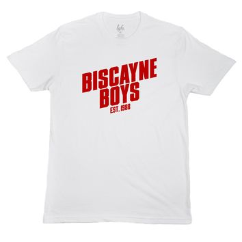Biscayne Boys - White/Red