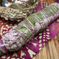 Cedar & Sage Smudge Bundle for Protection and Purification