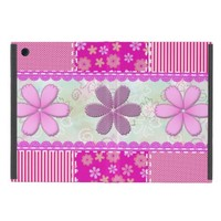 Colorful Patchwork Design Cover For iPad Mini