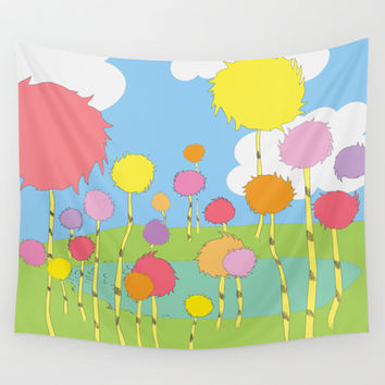 truffula trees.. the lorax  Wall Tapestry by Studiomarshallarts