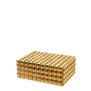 Gold Storage Box (S) | Eichholtz Vivienne