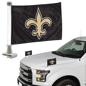 New Orleans Saints Flag Set 2 Piece Ambassador Style