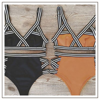 Women Bandage Bikini Set Push Up Swimsuit Sport Bathing Suit