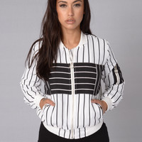 Ay Batter Batter Jacket - White