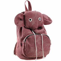 YESSTYLE: Smoothie- Elephant Drawstring Backpack - Free International Shipping on orders over $150