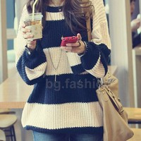 Fashion grain sweater