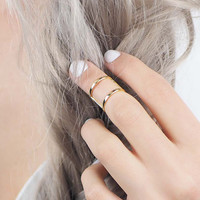 Kitsch Be Free Midi Ring