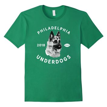 Distressed Novelty Philadelphia Underdogs Game Day T-Shirt