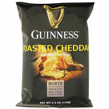 Guiness Toasted Cheddar Potato Chips 5.3 oz. (150g)