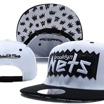 PEAPON Brooklyn Nets Bat 9FIFTY Snapback Cap M&N