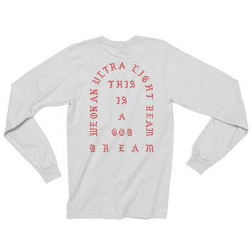 I Feel Like Pablo Shirt -I Feel Like Pablo tShirt -Pablo Shirt – Tee - Kanye West Long Sleeve Shirt Ultralight Beam Yeezy Season MSG T-Shirt