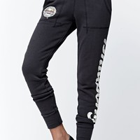 Billabong Beyond Words French Terry Jogger Pants - Womens Pants - Black