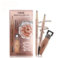 3pcs Waterproof Eyebrows Makeup Set Pencils