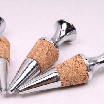 GLASS WINE STOPPER  Designs *NEW* Stainless Steel   Wine stopper Stainless steel Cork Stopper Wine Cork