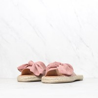 coconuts by matisse - now or never bow sandal - pink