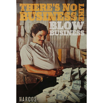 Narcos Domestic Poster