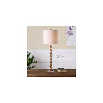 Uttermost Andalucia 32.5'' H Buffet Table Lamp with Round Shade
