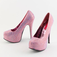 Bordello Baby Pink Heels