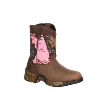Rocky Youth Aztec Pull-On Wellington Boot