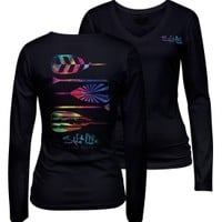 Salt Life Women's Rainbow Ride Long Sleeve Shirt