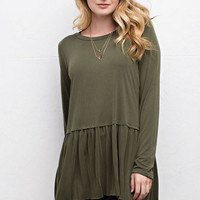 """Amberly"" Modal Tunic, 2 colors"