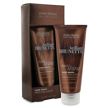 John Frieda Brilliant Brunette Shine Shock Leave-On Perfecting Glosser