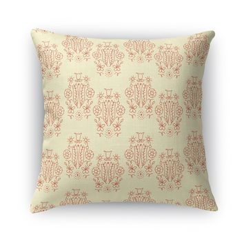 QUEEN OF FLOWERS Accent Pillow By Heidi Miller