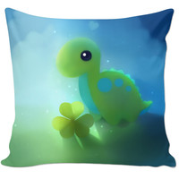Cute Dinosaur Couch Pillow