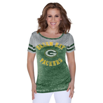 Green Bay Packers Touch by Alyssa Milano Ladies Morgan T-Shirt – Green