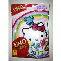 UNO Hello Kitty Cards, 112 Cards