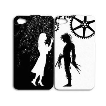 Edward Scissorhands Johnny Depp Cute Pair Case iPhone iPod