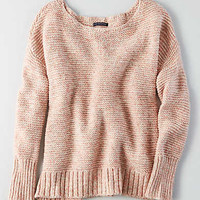 AEO Textured Easy Sweater , Pink