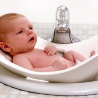 Puj Tub -The Soft Foldable Baby Bath Tub - White