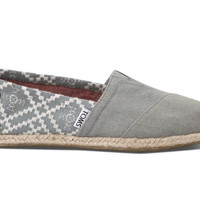 TOMS Classic Denim Embroidered Women