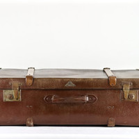 Suitcase XXL, Vintage Suitcase,  Kindelbrück German Suitcase, Trunk Style Suitcase, Luggage, Old Suitcase, Old Luggage