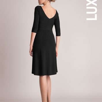 Luxury V Back Maternity Dress