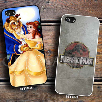 the princess disney & Jurassic Park
