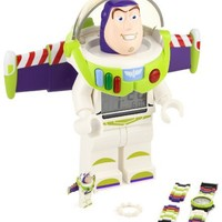 LEGO Kids' 9004346 Toy Story Buzz Lightyear Clock, Watch, and Figurine Set