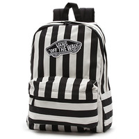 Stripe Realm Backpack | Shop Womens Backpacks at Vans