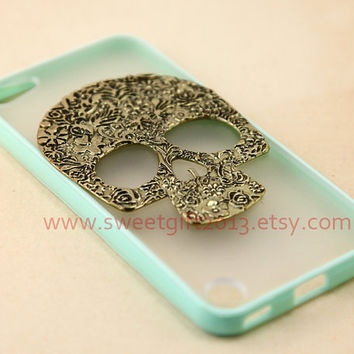 Sugar skull Ipod Touch 5 Case, Samsung Galaxy S2 / S3 i9300 / S4 i9500 / note 2 / note 3 case, iphone 4 4s / 5 5s / 5c case