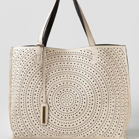 Reversible Sunburst Laser Cut Tote
