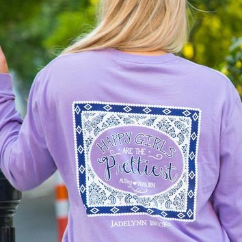 Jadelynn Brooke: Happy Girls are the Prettiest L/S {Lavender}