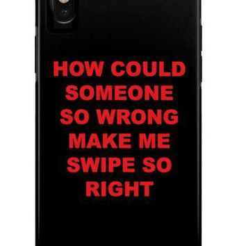 So Wrong, But So Right Phone Case