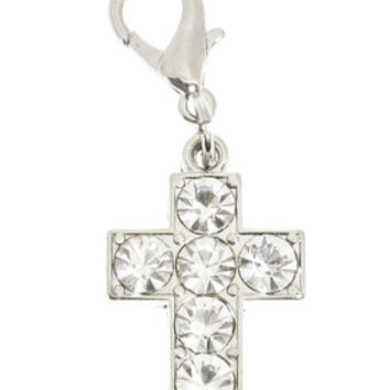 Swarovski Cross Dog Collar Charm | Chihuahua Clothes and Accessories at the Famous Chihuahua Store!