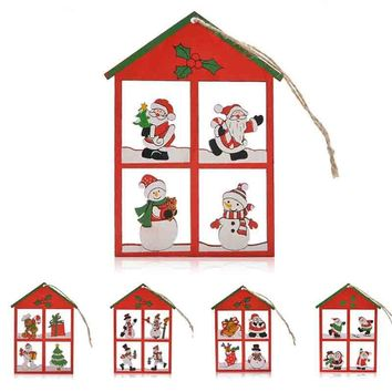 12PCS Hanging Pendants Snowman Christmas Decoration
