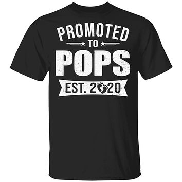 Vintage Promoted to Pops Est 2020 First New Grandpa Gift